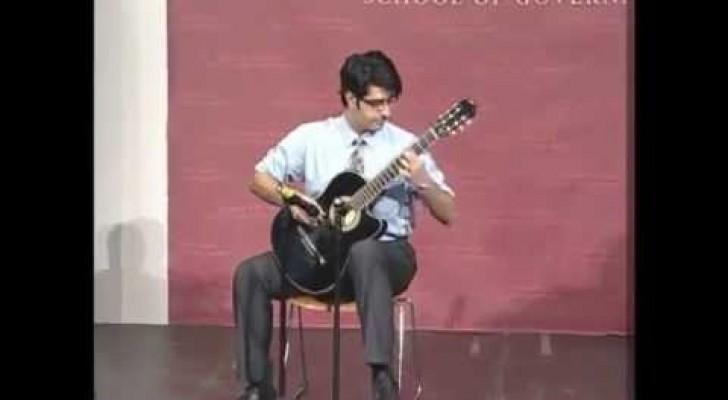 Je vous montre comment faire parler une guitarre