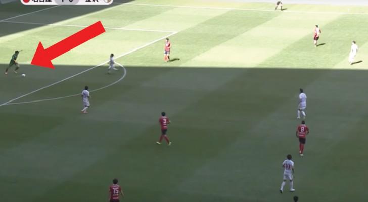 Um dos gols mais absurdos de todos os tempo: goleiro japonês entregou tudo...