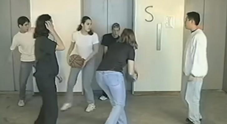 Wie oft werfen sich die Spieler in weiß den Ball zu? Findet heraus, wie aufmerksam ihr seid.