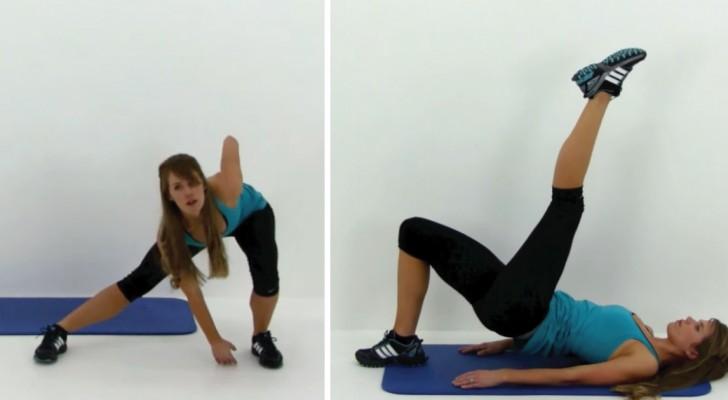 Tienen poco tiempo y quieren tonificar los musculos? Con estos ejercicios bastan 10 minutos al dia!