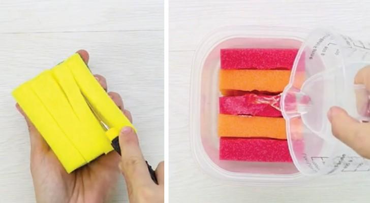 5 coisas surpreendentes que você pode fazer com a esponja de lavar louças