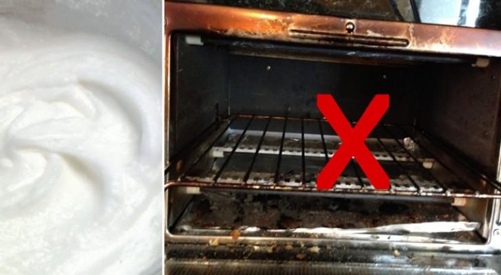 Ecco un prodotto del tutto naturale per far splendere il forno di casa vostra