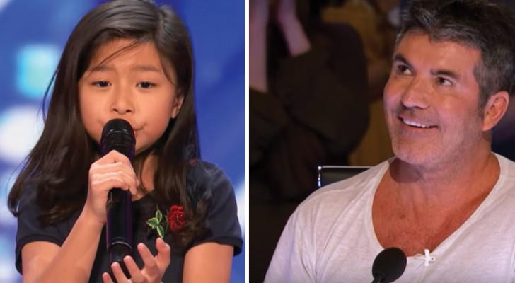 Cette petite fille s'appelle Céline et sa sœur Dion: sa voix est à la hauteur du nom qu'elle porte