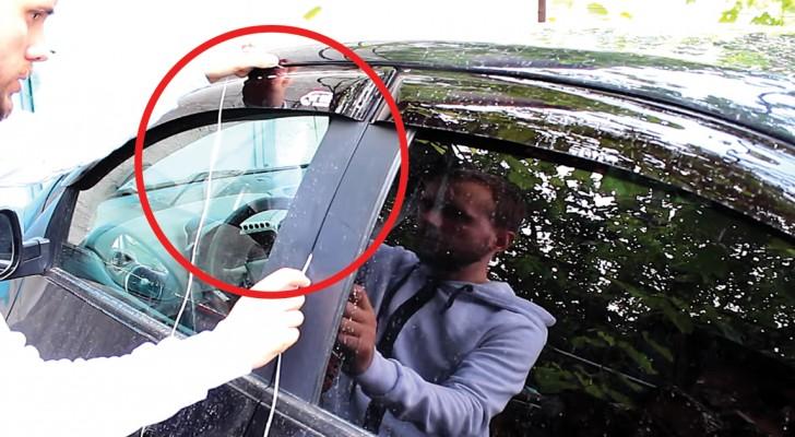 Esqueceu a chave dentro do carro? Veja como abrir a porta em 30 segundos