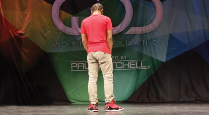 His freestyle dance moves are absolutely mind-blowing!