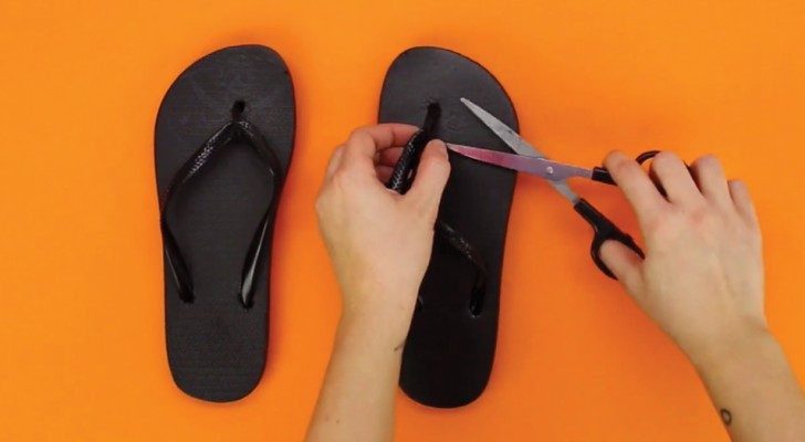 Ideas to recycle your old flip-flops!