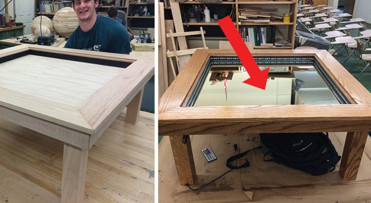 A novel design takes coffee tables to whole new level! WoW!