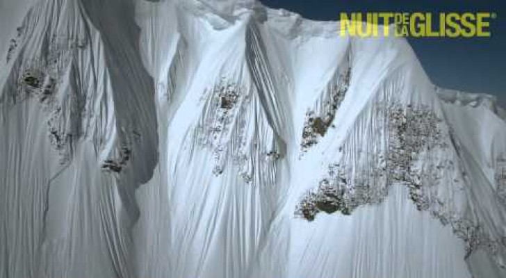 The crazy descent from the mountain