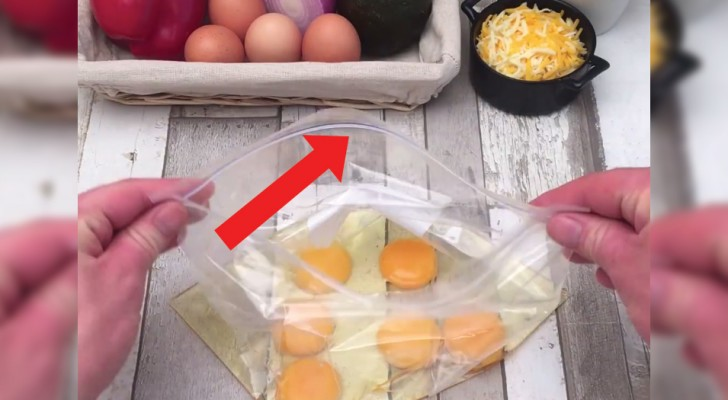 Discover how to make a Ziploc Omelette!