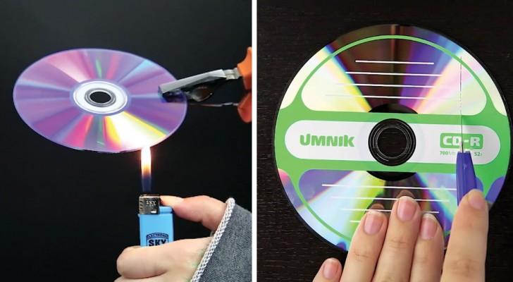 Wil je je ongebruikte cd's weggooien? Na het zien van deze video zul je daar anders over denken!
