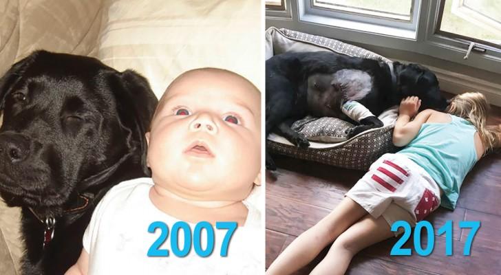 Haar zus zei haar dat ze geen pup moest nemen wanneer ze zwanger was, maar ze heeft het toch gedaan