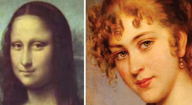 500 años de retratos femeninos convierten el rostro de una sola mujer que se mueve y nos mira