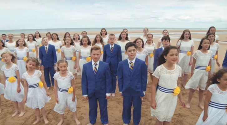 WWII D-Day Commemoration by the One Voice Children's Choir
