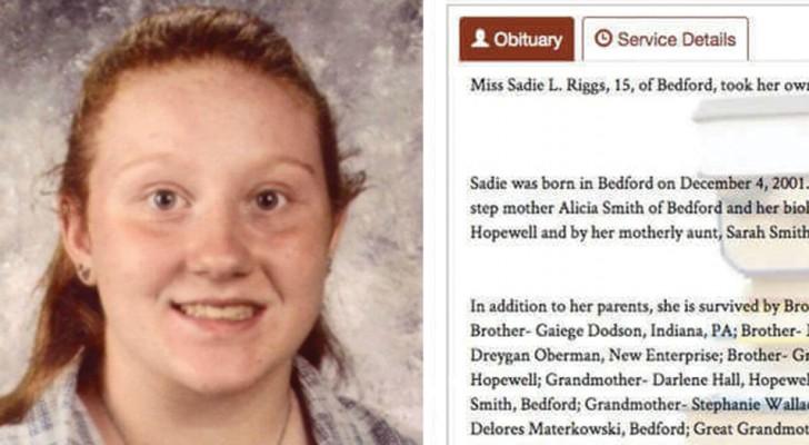 Viene a faltar a los 15 años: la familia escribe un mensaje que deberiamos leer a nuestros hijos