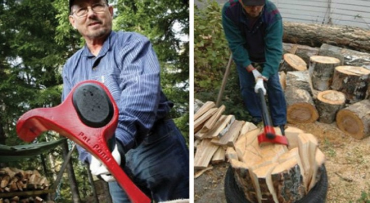 Lumberjacks are very happy with this innovative ax!