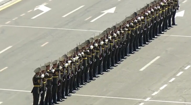 One of the most complicated Honor Guard Drill exhibitions EVER!