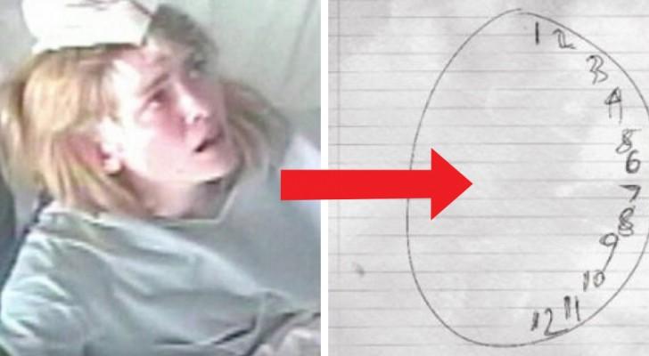 Tout le monde la prenait pour une folle: un simple dessin a mis fin au mystère qui tournait autour de cette jeune fille.