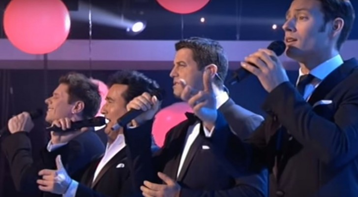 The fantastic four ---Il Divo --- sing