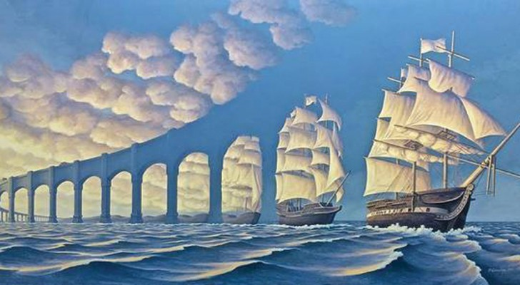 Unleash your imagination with these optical illusion paintings!
