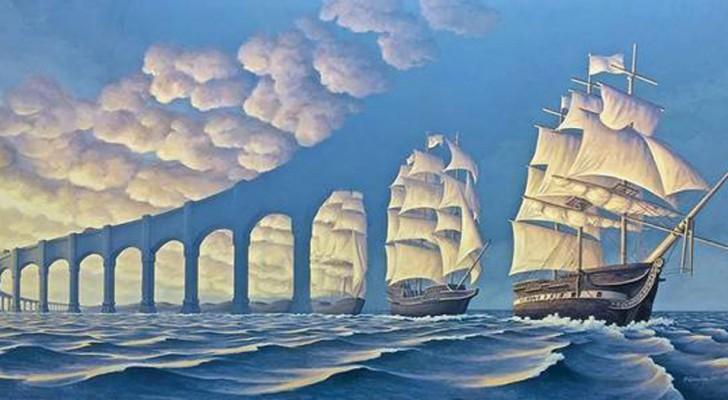 Les illusions d'optique de ces images vont laisser votre imagination partir très loin