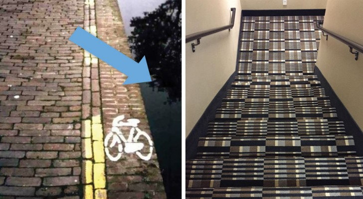 30 incidenti in procinto di accadere grazie a questi geniali progetti architettonici