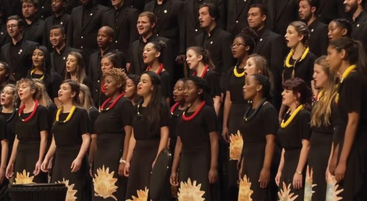 Il maestro ri-arrangia una celebre canzone: ciò che ne fa il suo coro è magico