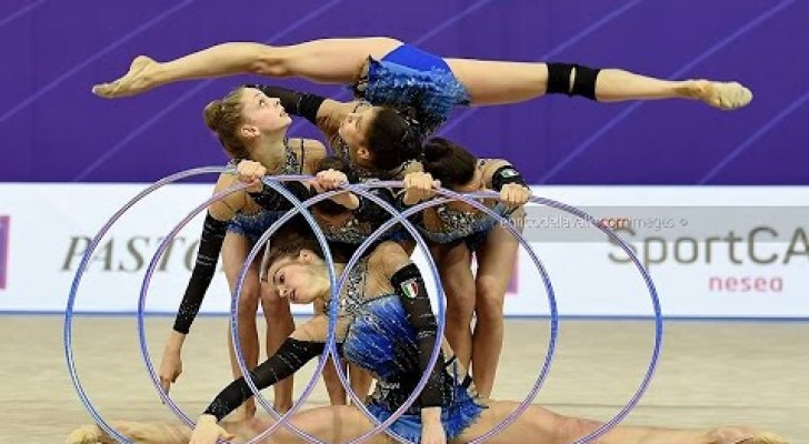 Le farfalle della ginnastica ritmica italiana sono oro nei 5 cerchi!