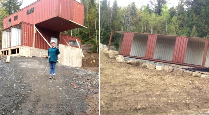 A dream house made from --- shipping containers!