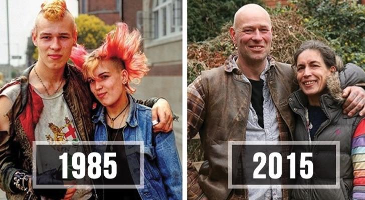 30 Jahre später stellt er die gleichen Fotografien nach: hier ist das Endergebnis