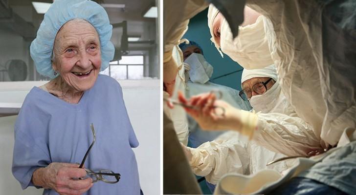 Sie ist fast 90 Jahre alt und führt immer noch 4 Operationen am Tag durch: das ist die älteste Chirurgin der Welt
