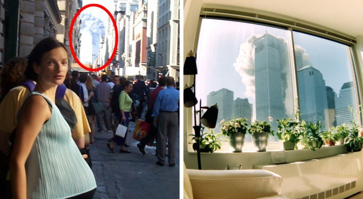 These rare photos taken on September 11 will make you relive those moments from a different point of view