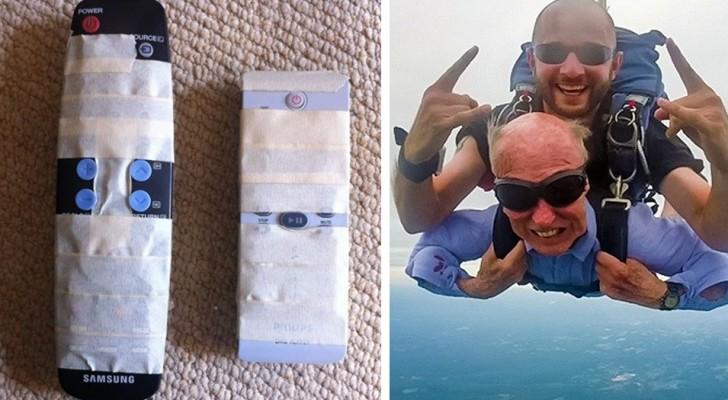 22 grappige foto's die maken dat je nog meer van je opa en oma gaat houden