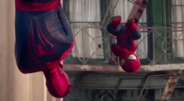 Spot Evian Spider-Man Dance