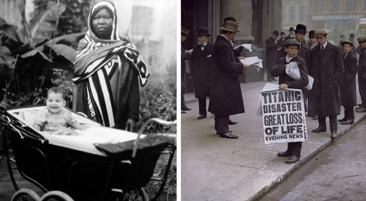 22 photos historiques qui révèlent de nouveaux détails du passé