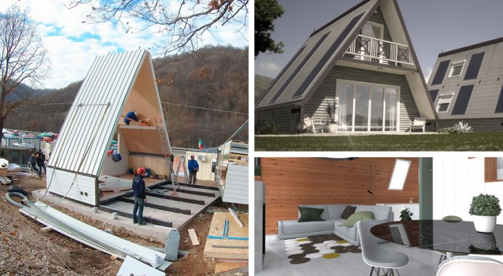 An economical house that can be built in a few hours? It exists and is produced by an Italian company