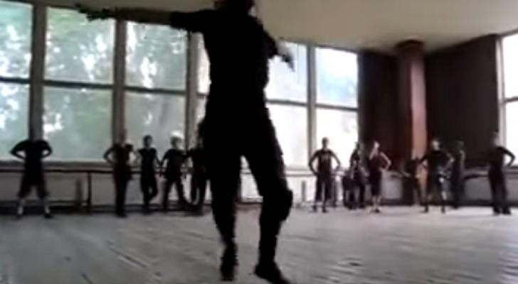 Exzellente Tänzer in Aktion