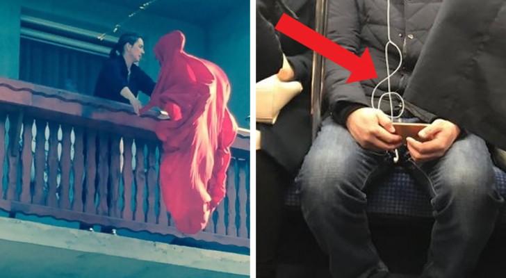 22 foto che non sarebbero le stesse senza queste coincidenze sensazionali