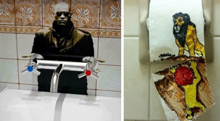 14 acts of vandalism in public toilets that you cannot help but find funny!