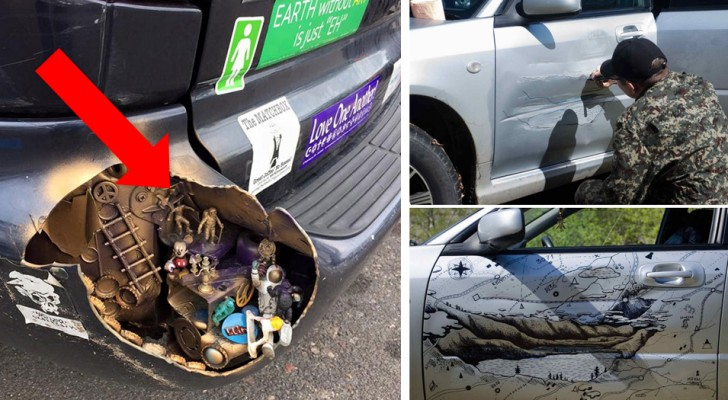 22 people who have personalized their car in a truly original way