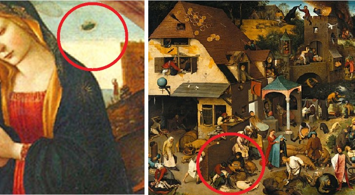8 curious details about eight famous paintings that you have missed!