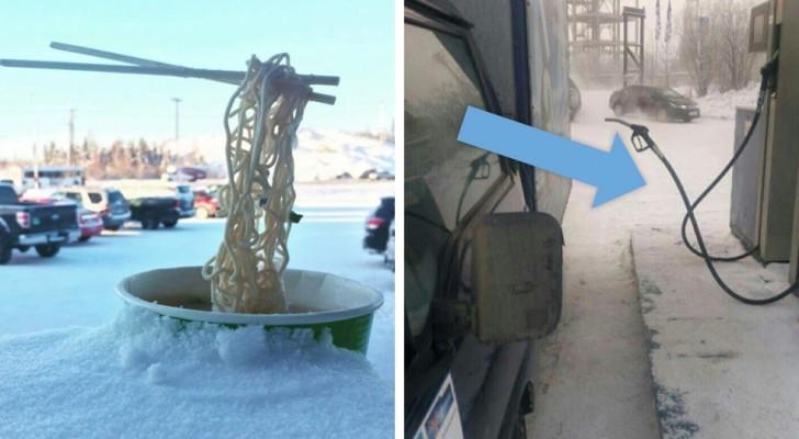 22 fotos que vão te convencer de quanto seja frio o inverno em alguns lugares...