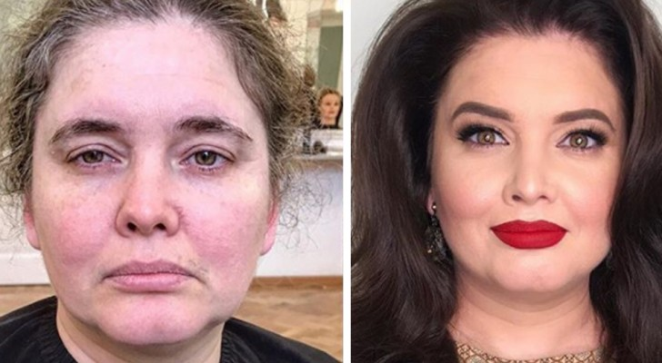 A make-up artist tries to make women smile by giving them smoking hot makeovers!