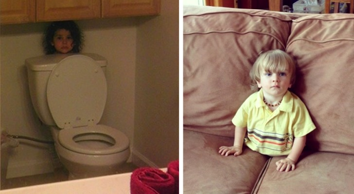 19 hilarious situations that only children can create
