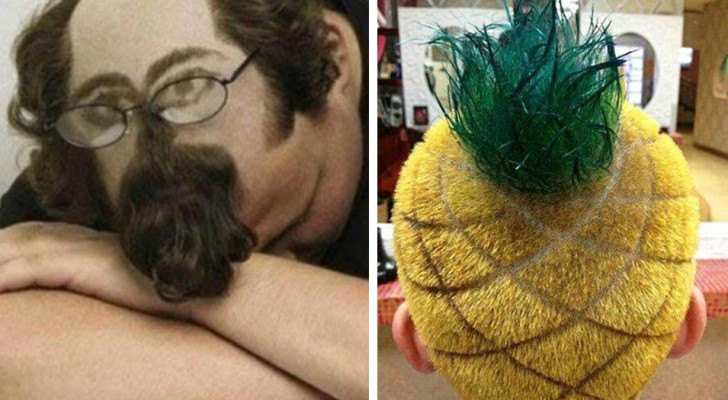 Hier sind 20 Frisuren, die man nur schwer wieder vergessen kann