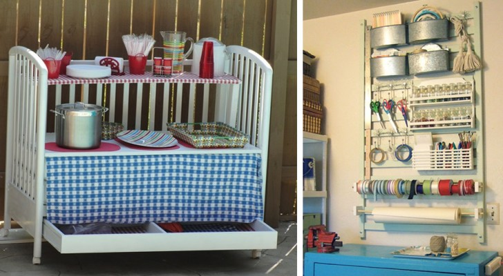 15 brilliant ideas to find new utility for a baby crib or cot!