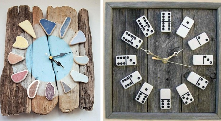 6 original wall clocks that you can make with your own hands