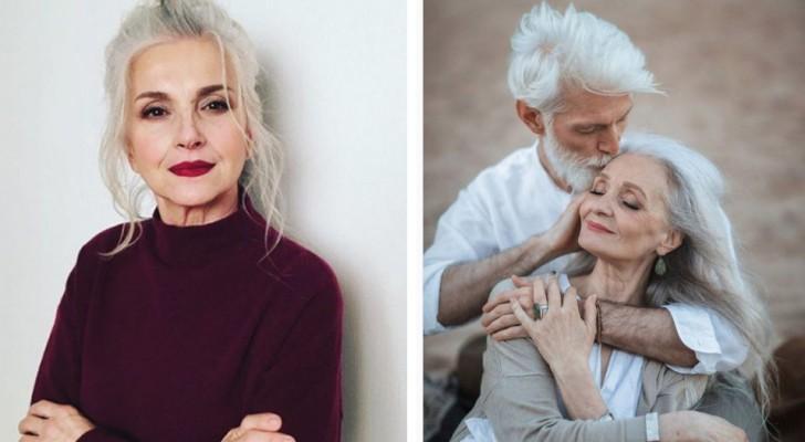 Questa agenzia di moda lavora solo con modelli over 45: la bellezza delle foto parla da sé