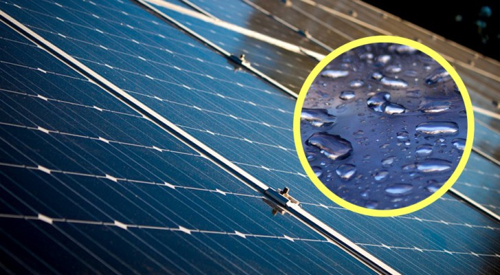 Ricavare energia dal Sole e dalla pioggia: un nuovo pannello solare ibrido lo rende possibile