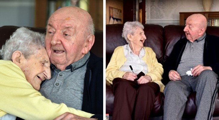 A 98-year-old mother moved to a nursing home to look after her 80-year-old son