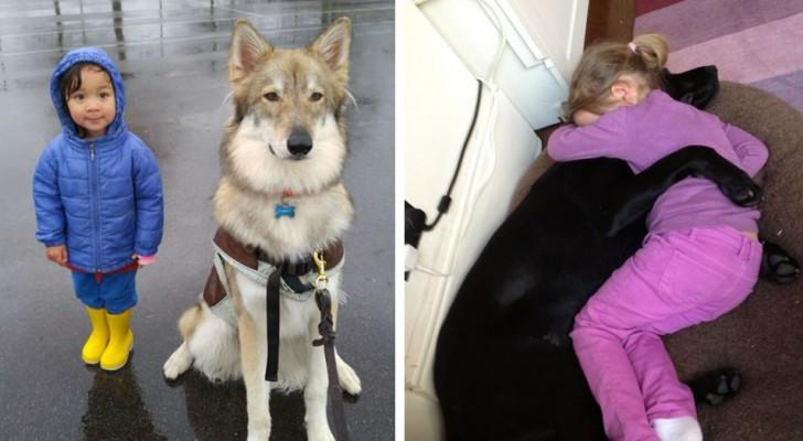 Si estas fotos no los convenceran del hecho que cada niño deberia tener un perro, ninguna otra cosa lo hara!
